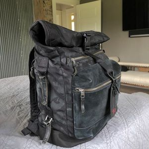 TUMI Dalston Ridley Camo roll up Backpack